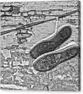 Codes Bricks And Roads  Canvas Print