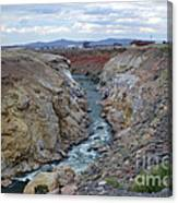 Cody Wyoming River Canvas Print