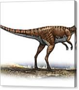 Coelophysis Bauri, A Prehistoric Era Canvas Print