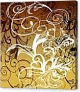 Coffee Flowers 1 Calypso Canvas Print