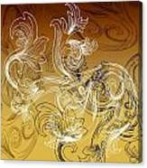 Coffee Flowers 2 Calypso Canvas Print