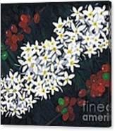 Coffee Flowers Canvas Print