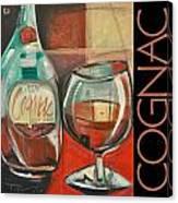 Cognac Poster Canvas Print