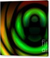 Coiled Gradient Canvas Print