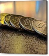 Coin Canvas Print