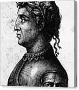 Cola Di Rienzo (1313-1354) Canvas Print