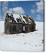 Cold And Lonesome Canvas Print