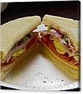Cold Cut Sandwich Canvas Print