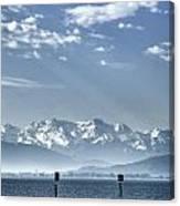 Cold Lake Canvas Print
