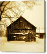 Cold On The Ridge Canvas Print