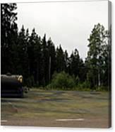 Cold War Hiway Fuel Dump Canvas Print