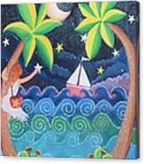 Collecting Stars Canvas Print