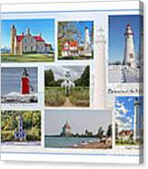Collection Of Lighthouses Canvas Print