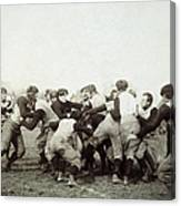 College Football Game, 1905 Canvas Print