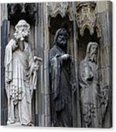 Cologne Cathedral Statues Canvas Print