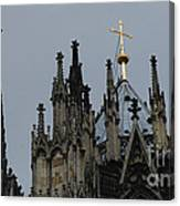 Cologne Cathedral Towers Canvas Print