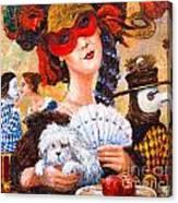 Colombina Canvas Print