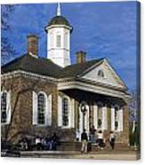 Colonial Williamsburg Courthouse Canvas Print