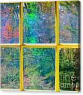 Colonial Window Panes Canvas Print