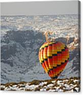 Color Above The Canyon Canvas Print
