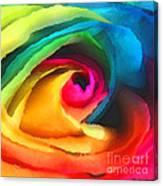 Color Launch Canvas Print