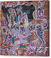 Color Painting 2 Canvas Print