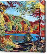 Color Rich Harriman Park Canvas Print