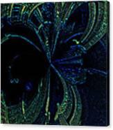 Color Study 02 Green Blue Canvas Print