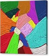 Color Tectures Canvas Print