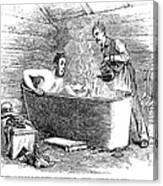 Colorado Bathhouse, 1879 Canvas Print