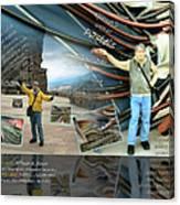 Colorado-california Art Book Cover Canvas Print