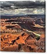 Colorado In The Canyons Canvas Print