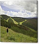 Colorado Mountain Freedom Canvas Print