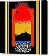 Colorado On Fire Canvas Print
