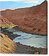 Colorado River Canyon 1 Canvas Print