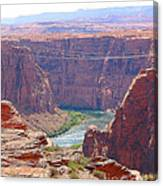 Colorado River In Arizona Canvas Print