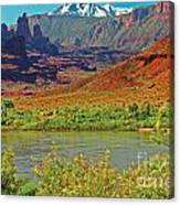 Colorado River Canvas Print