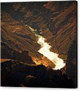 Colorado River Rapids Canvas Print
