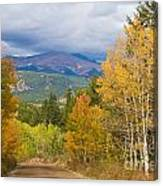 Colorado Rocky Mountain Autumn Scenic Drive Canvas Print
