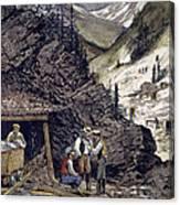 Colorado Silver Mines, 1874 Canvas Print