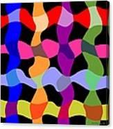 Colorfield Theory, No. 1 Canvas Print