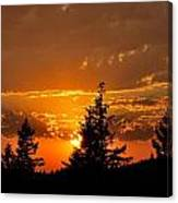 Colorfrul Sunset I Canvas Print