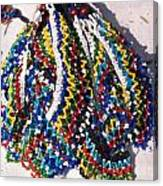 Colorful Beads Jewelery Canvas Print