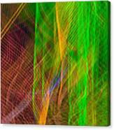 Colorful Beams 2 Canvas Print