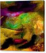 Colorful Burlap Canvas Print