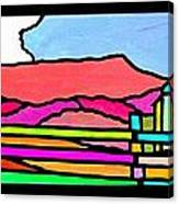 Colorful Massanutten Peak Canvas Print