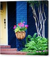 Colorful Porch Canvas Print