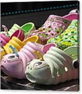 Colorful Shoe Canvas Print