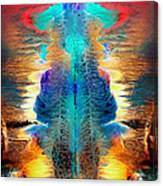 Colorful Water Color Painting Canvas Print