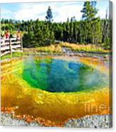 Colorful Yellowstone Canvas Print